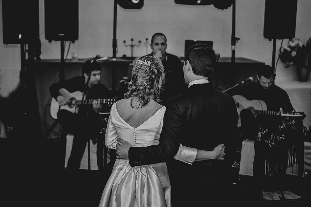boda cante novios