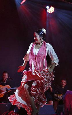 Baile: Irene Acereda