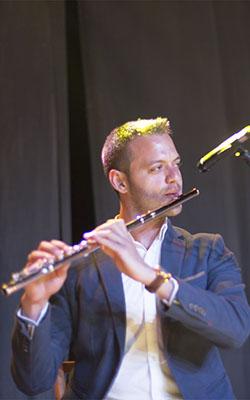 Flauta Travesera: Jorge Llorente