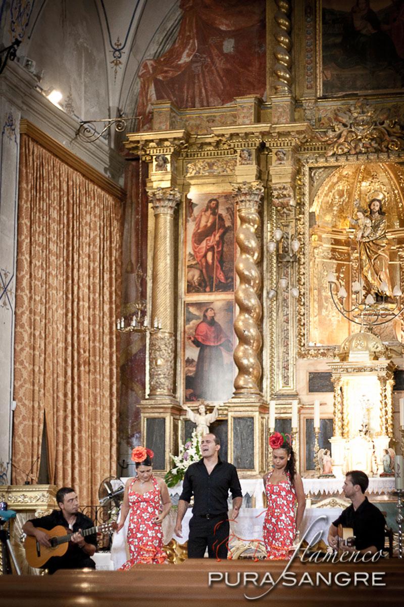 iglesia san jose misa rociera
